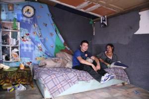 Dans le bidonville en attente d'expulsion