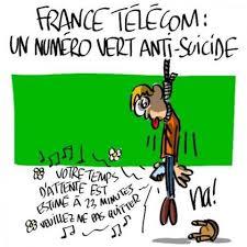 Les suicides continuent chez l'ex-France Télécom